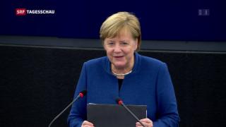 Video « Angela Merkel zur Zukunft Europas» abspielen