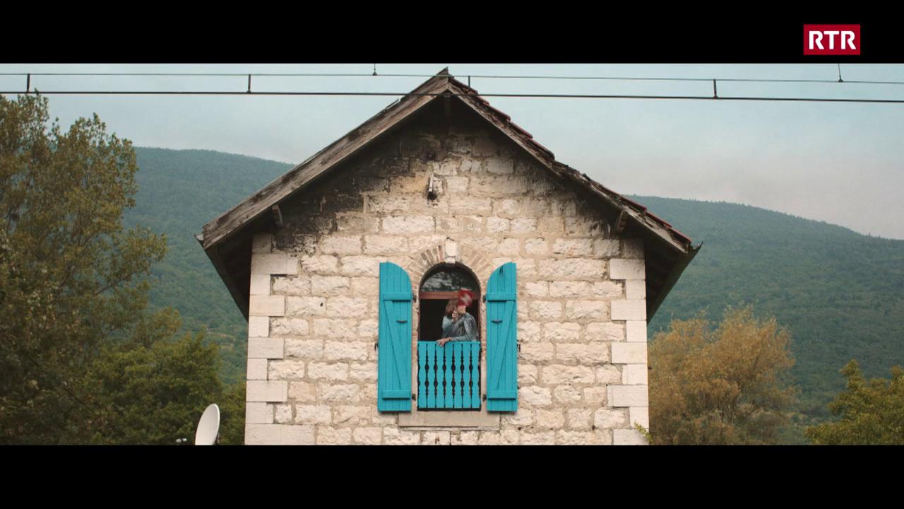 Il film 'la femme et le TGV' fa staziun a Cuira
