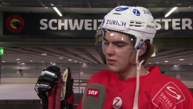 Video «Wie sich Nico Hischier für die NHL fit trimmt» abspielen