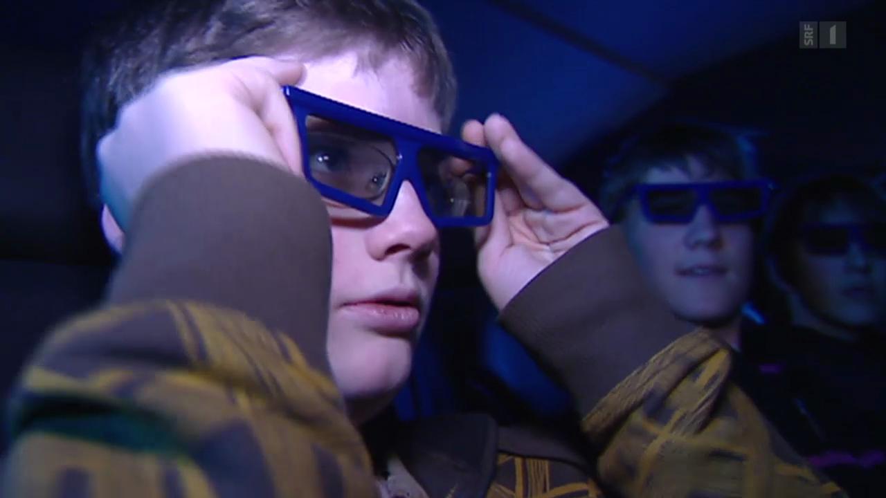 Verbot für 3-D-Brillen für Kinder unter 6?