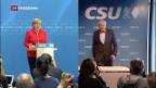 Video «CSU hängt Damoklesschwert über Koalition» abspielen