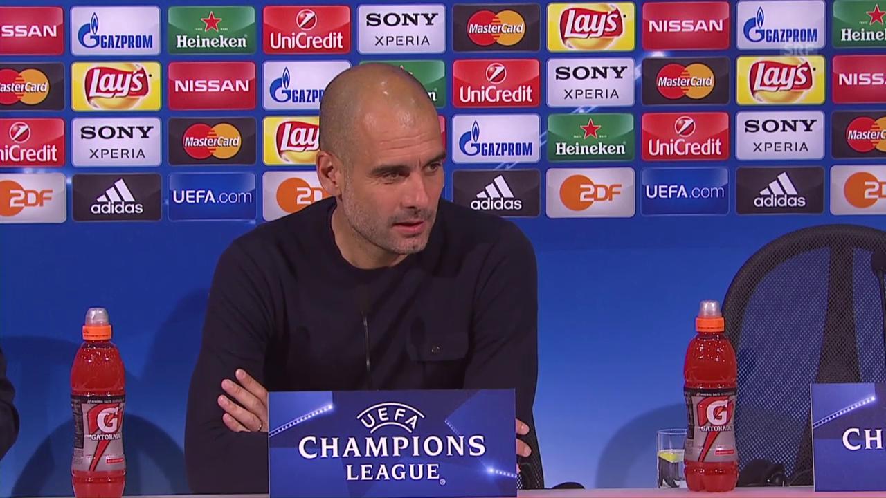 Was Pep Guardiola und Manuel Neuer vor dem CL-Rückspiel sagen