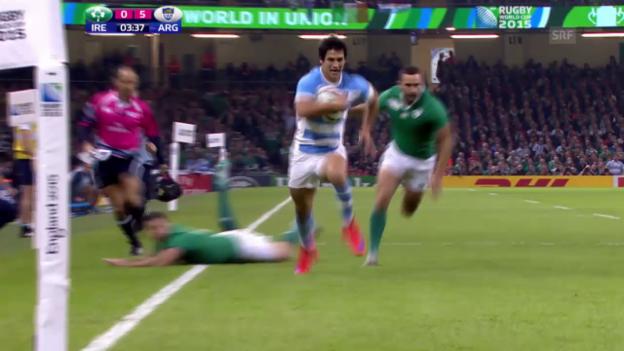 Video «Rugby: WM, Vorschau auf Halbfinal Australien - Argentinien» abspielen