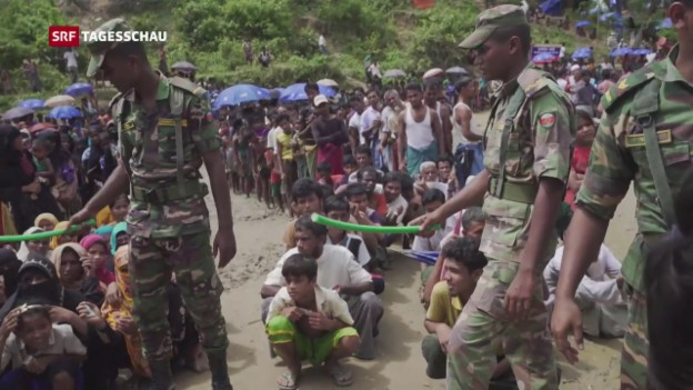 Video «Burma lässt erstmal UNO-Mitarbeiter ins Land» abspielen