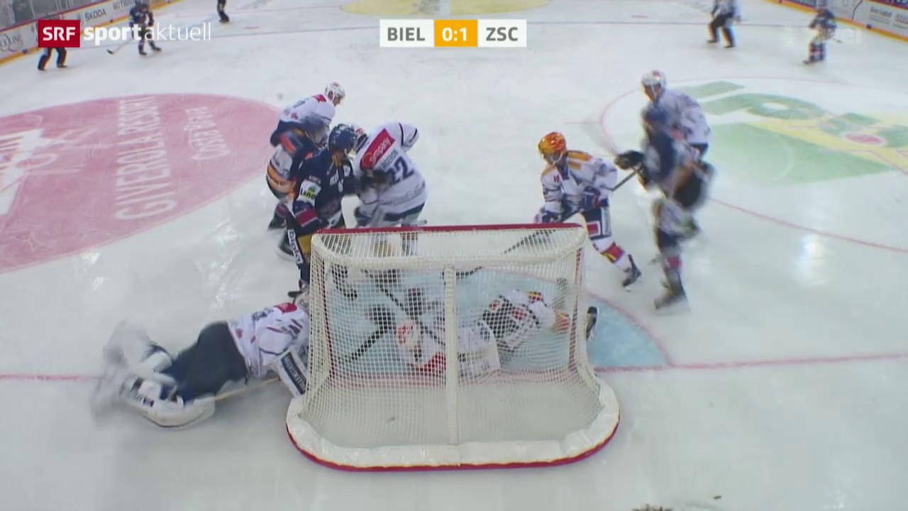 Eishockey: NLA, Biel - ZSC Lions