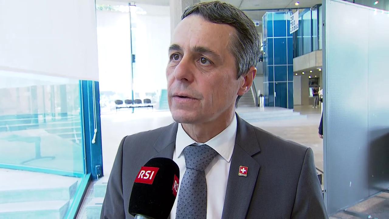 Cassis: «Selbstverständlich will die Schweiz den Frieden zwischen Nord- und Südkorea»