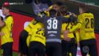 Video «DFB-Pokal: Stuttgart - Borussia Dortmund» abspielen