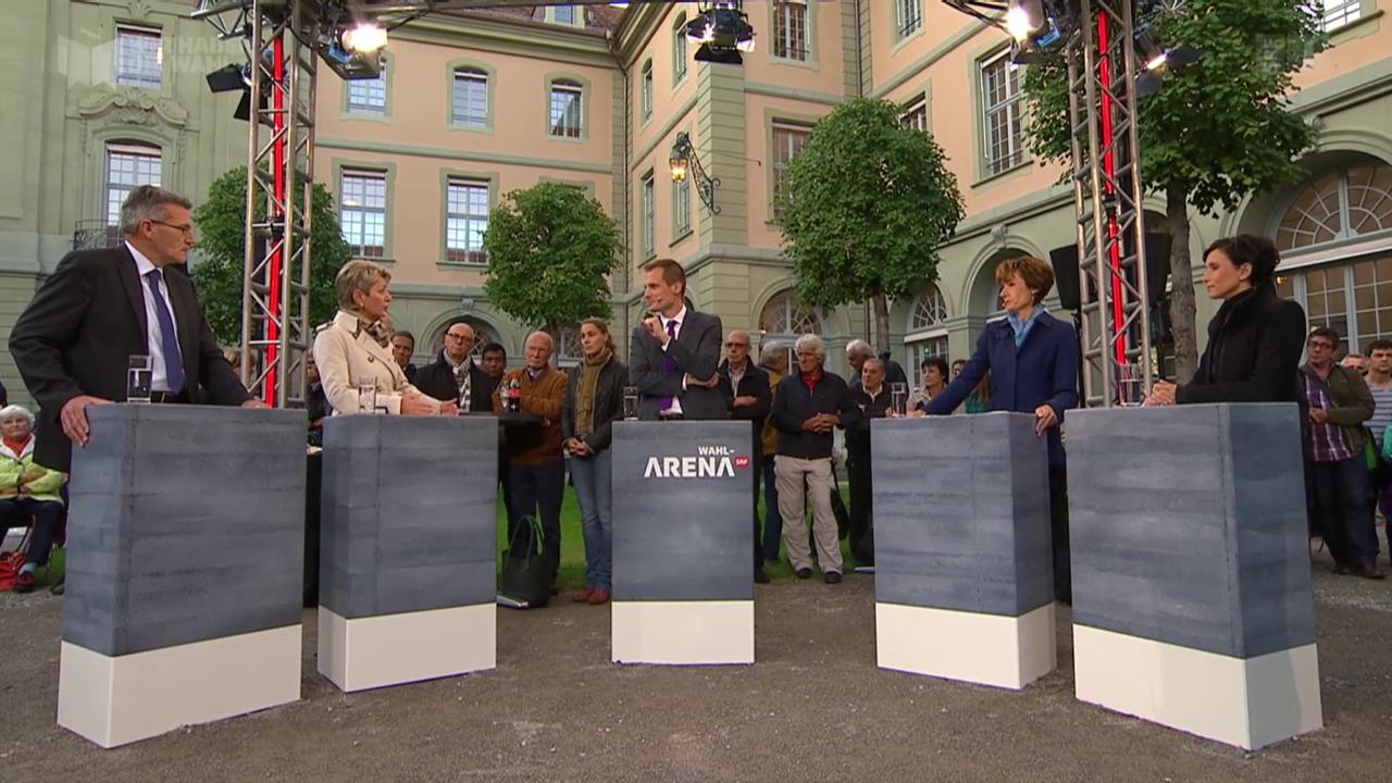 «Wahl-Arena» zur AHV-Reform