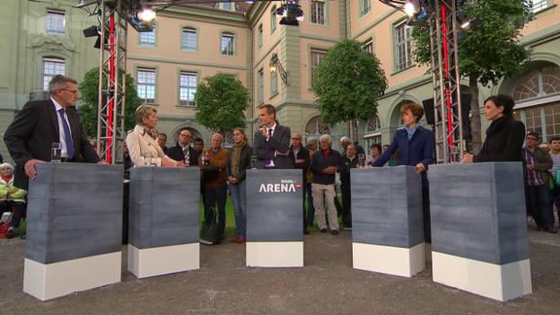 Video ««Wahl-Arena» zur AHV-Reform» abspielen