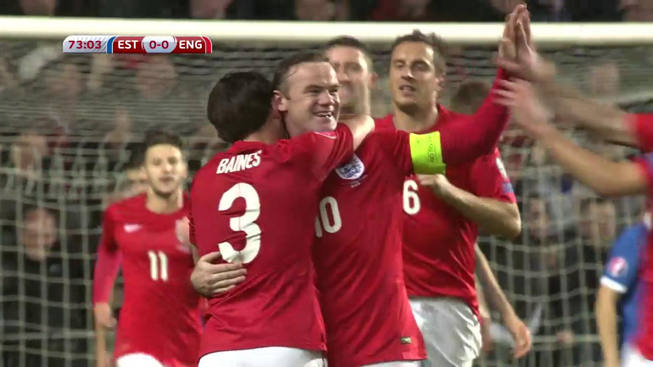 Impressionen aus Rooneys Nati-Karriere