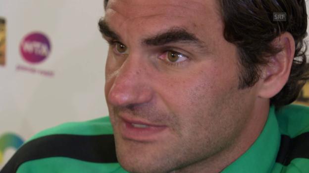 Video «Federer über das Final-Duell in Miami gegen Nadal» abspielen