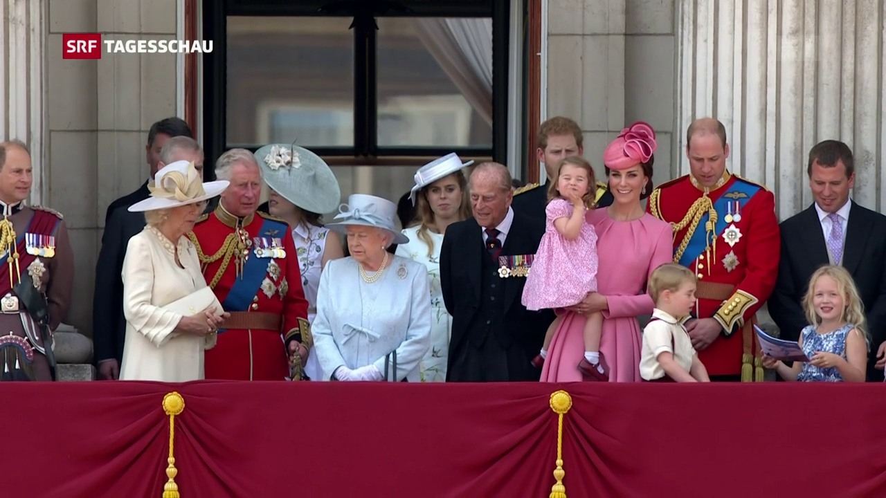 «Trooping the Colour» in London