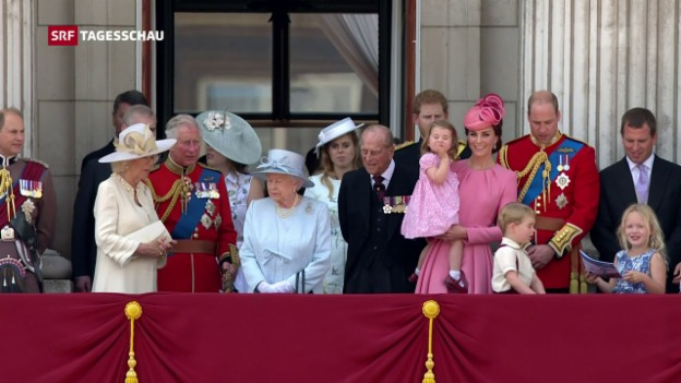 Video ««Trooping the Colour» in London» abspielen