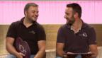 Video «Radballer Roman Schneider und Dominik Planzer» abspielen