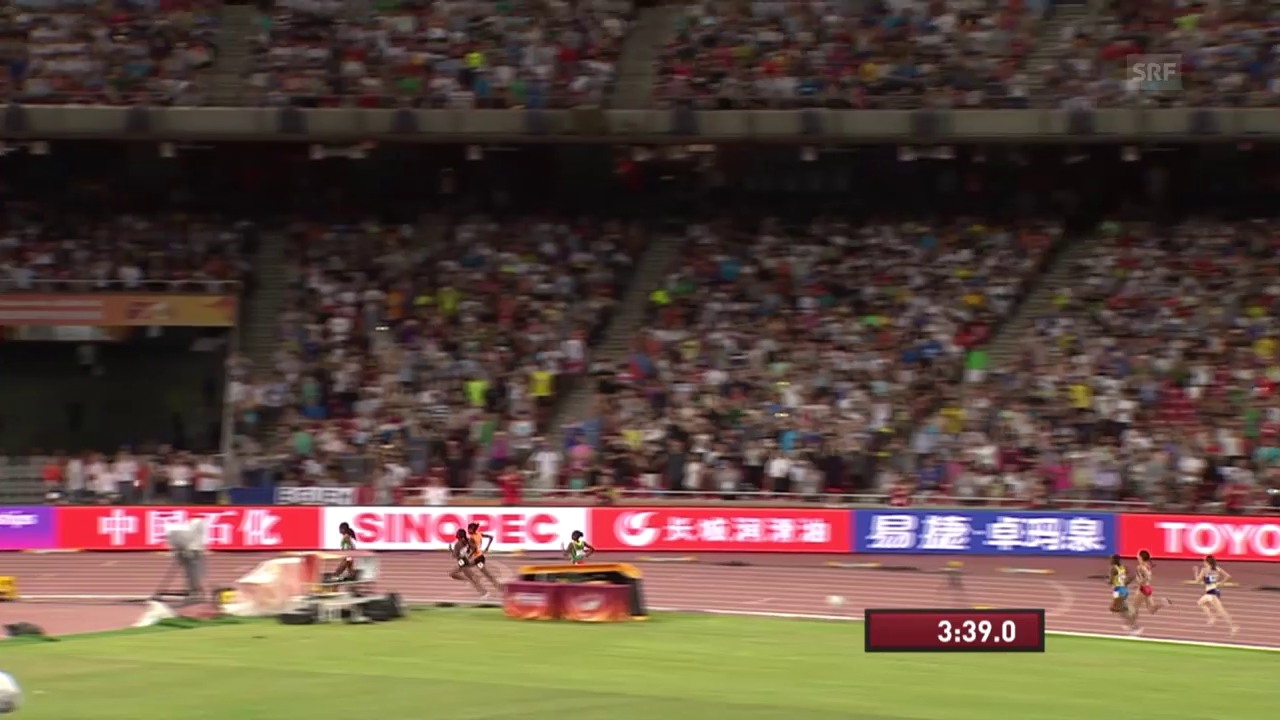 LA-WM in Peking: Dibabas Goldlauf