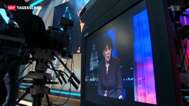 Video «Al Jazeera will amerikanische Fernseher erobern» abspielen