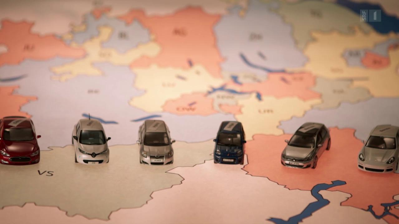 So teuer ist die Auto-Steuer: Der grosse Kantons-Vergleich