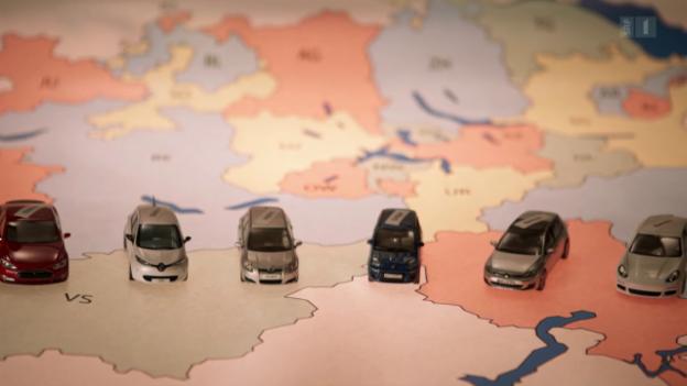 Video «So teuer ist die Auto-Steuer: Der grosse Kantons-Vergleich» abspielen