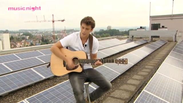 Musik aufs Dach: Bastian Baker
