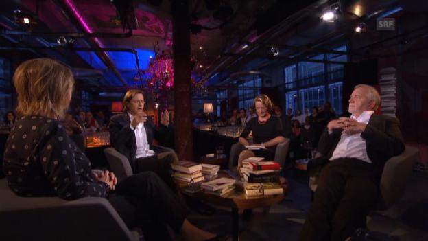 Video «Der Literaturclub im Gespräch über Wagner» abspielen