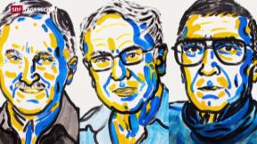 Video «Nobelpreis Chemie geht an drei Erbgut-Forscher» abspielen
