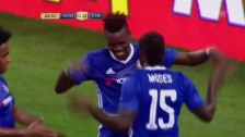 Video «Chelsea gewinnt in Minneapolis gegen Milan» abspielen