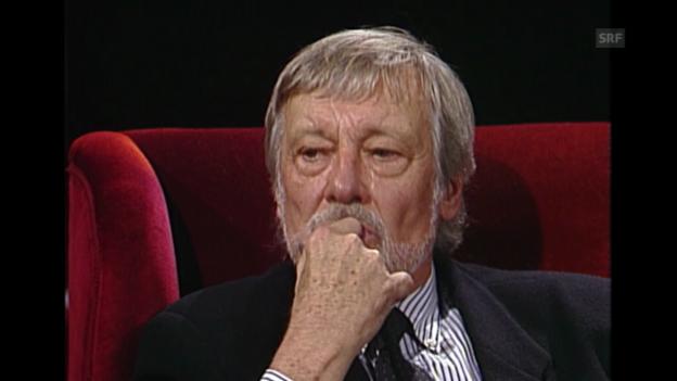 Video «Ein Gespräch mit Dietmar Schönherr (Fundus vom 1.12.1992)» abspielen