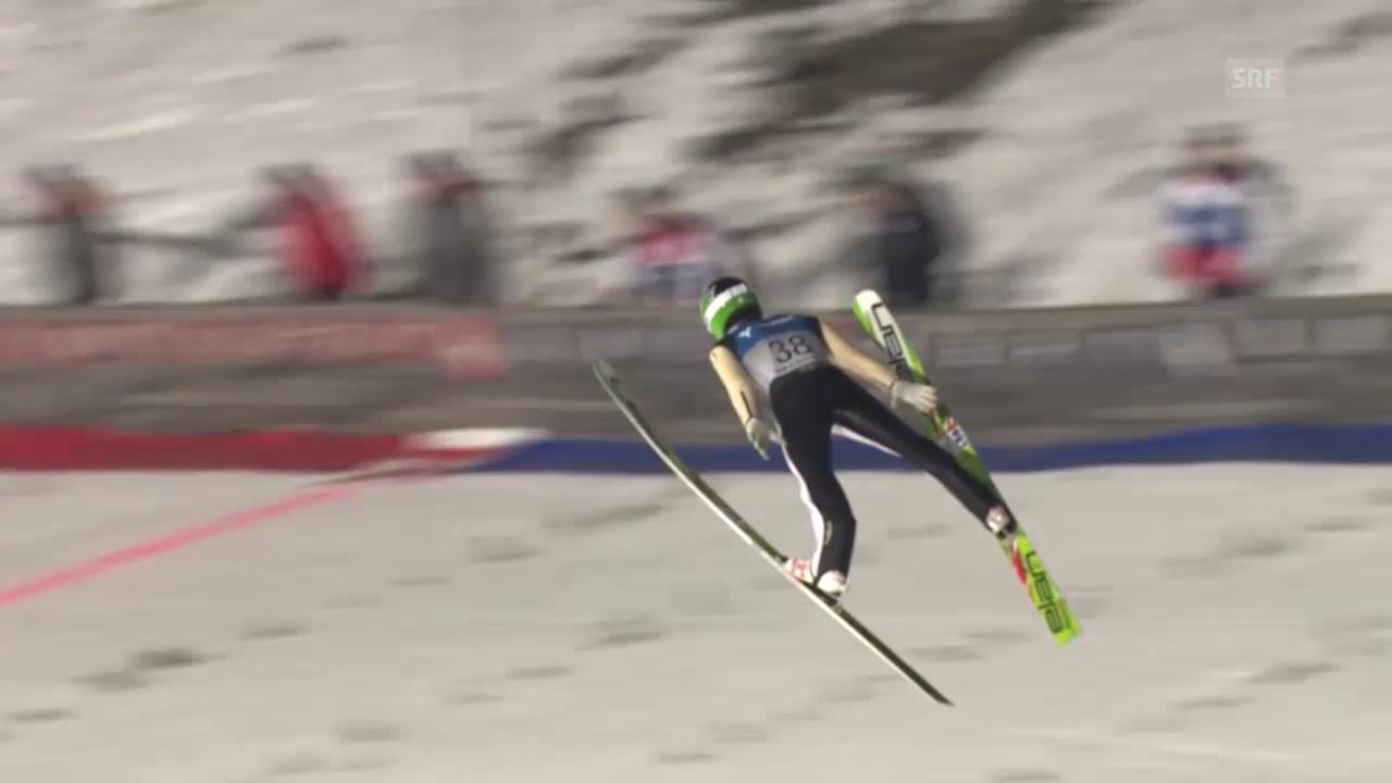 Skispringen: Weltrekord Peter Prevc