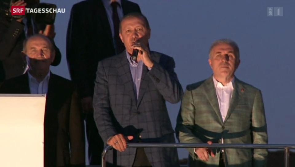 Erdogan feiert seinen Wahlerfolg