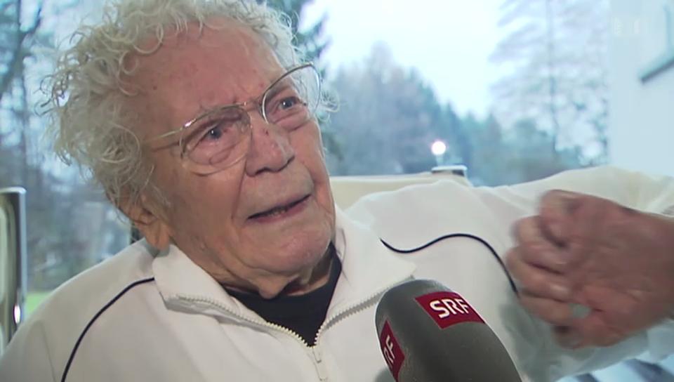 Hans Erni feiert seinen 105. Geburtstag