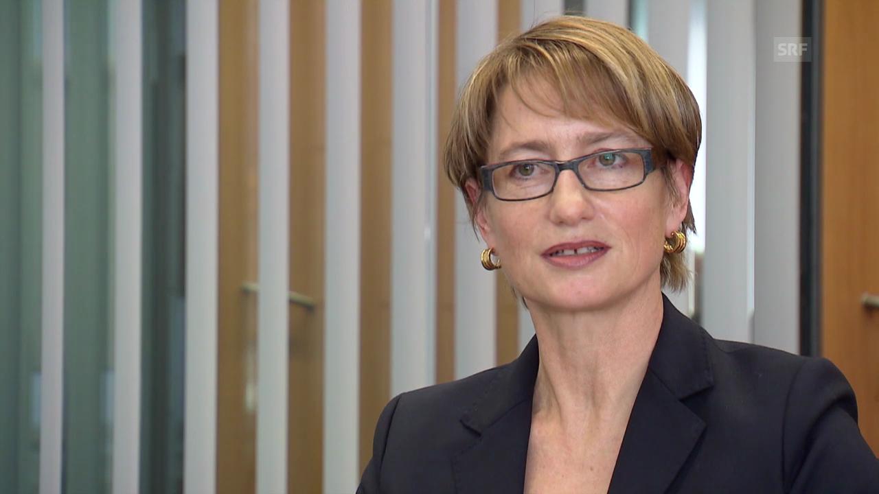 Personal-Chefin Gerda Schwindt zu Glencore als Lehrbetrieb