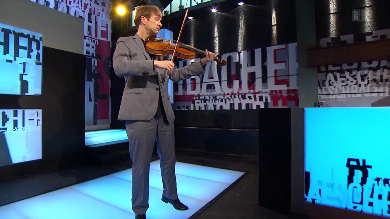 Nils Mönkemeyer mit einem Springtanz von Johann Sebastian Bach