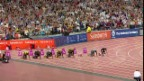 Video «Der 100-m-Lauf von Usain Bolt in London» abspielen