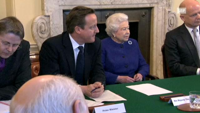 Die Queen im Kabinett (unkomm.)