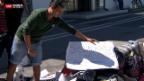 Video «Campende Asylbewerber» abspielen