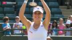 Video «Bencic siegt beim Wimbledon-Juniorinnen-Turnier» abspielen
