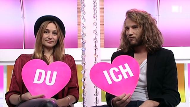 Ich oder Du: Mahara Mc Kay und Freund Jonas Brändli