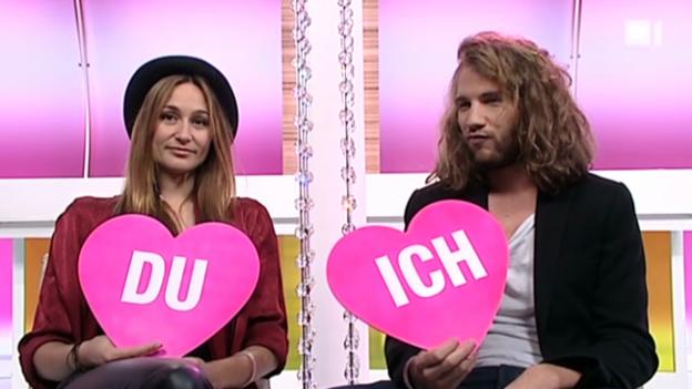 Video «Ich oder Du: Mahara Mc Kay und Freund Jonas Brändli» abspielen