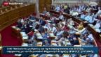 Video «Parlament entscheidet über Sparprogramm» abspielen