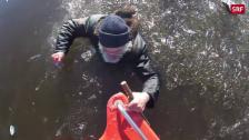 Link öffnet eine Lightbox. Video Fischer bricht im Eis ein abspielen