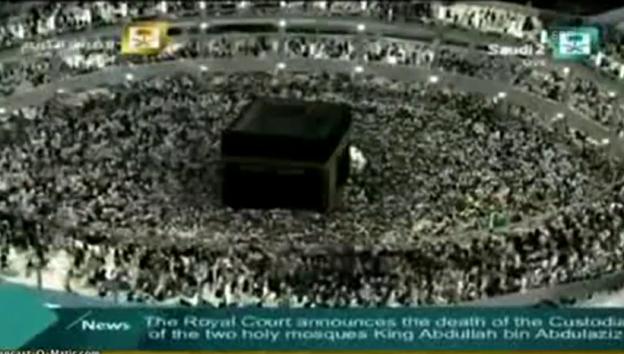 Video «Saudis betrauern den Tod des Königs Abdullah» abspielen