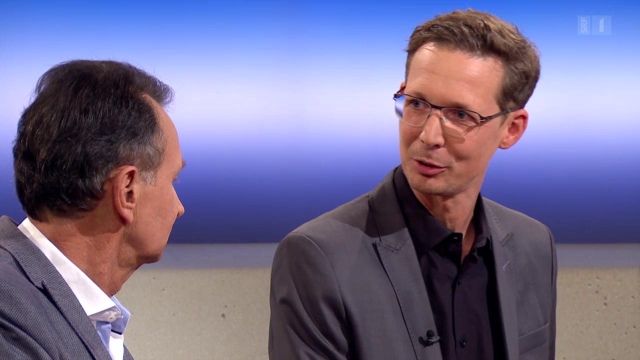 Theke zum Verhältnis FDP und SVP