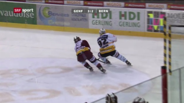 Video «NLA-Playoffs: Genf - Bern» abspielen