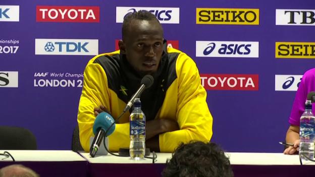 Video «Bolt: «Jetzt einfach mal Party machen»» abspielen