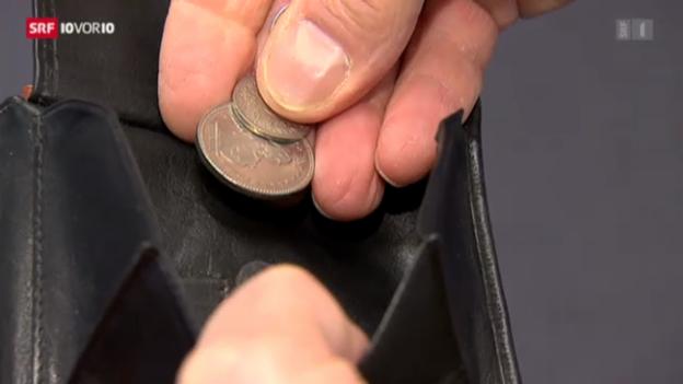 Video «Weniger als 4000 Franken pro Monat» abspielen