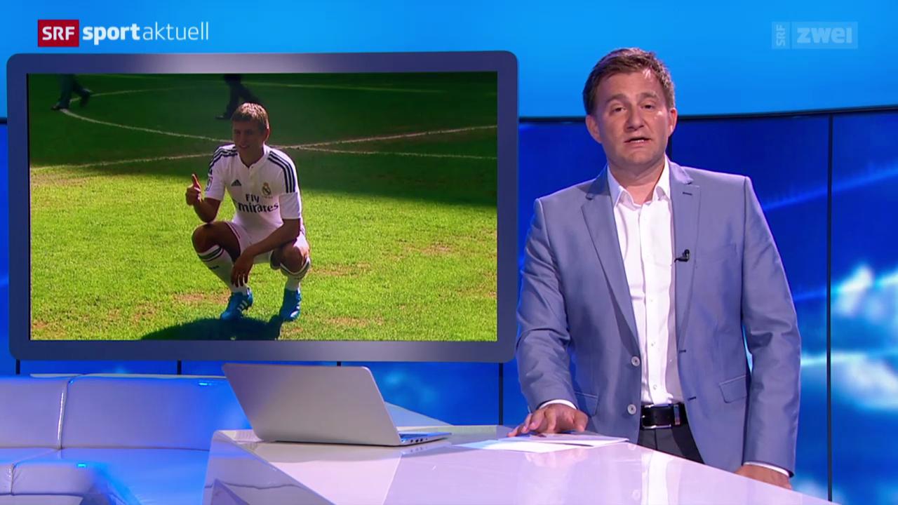 Fussball: Toni Kroos in Madrid vorgestellt