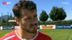 Video «Fussball: Tranquillo Barnetta über seinen Wechsel zu Frankfurt» abspielen