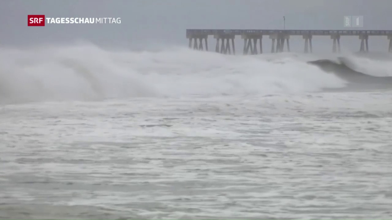 Florida: Hurrikan sorgt zu Stromausfällen und Sturmfluten