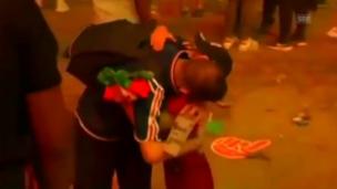 Video «So tröstete ein portugiesischer Junge einen Frankreich-Fan» abspielen