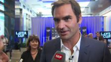 Link öffnet eine Lightbox. Video Roger Federer spricht über seine körperliche Verfassung vor den US Open abspielen